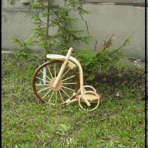 Цветник велосипед