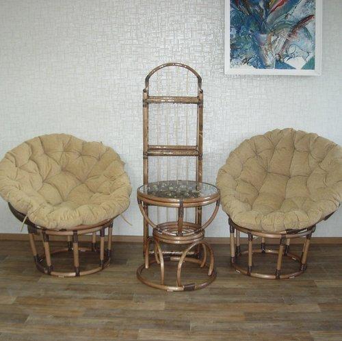 Набор плетеной мебели папасаны